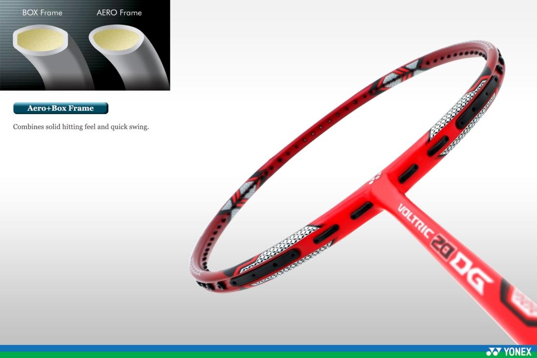 Yonex Badminton Racquet - Voltric 20 DG - Free String + Free Bag + ... e53ef088ef48c
