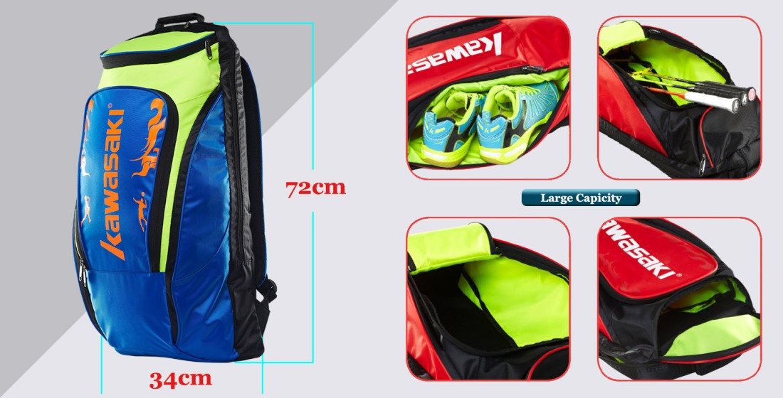 Kawasaki Badminton Racquet Bag